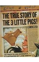 Book Cover for THE TRUE STORY OF THE 3 LITTLE PIGS