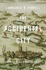 Cover art for THE ACCIDENTAL CITY