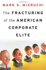 Book Cover for THE FRACTURING OF THE AMERICAN CORPORATE ELITE