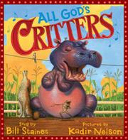 Book Cover for ALL GOD'S CRITTERS