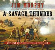 Book Cover for A SAVAGE THUNDER