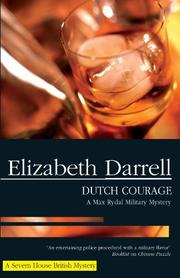 Cover art for DUTCH COURAGE