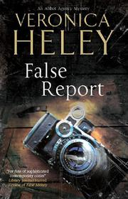 Cover art for FALSE REPORT