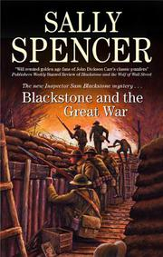 Cover art for BLACKSTONE AND THE GREAT WAR