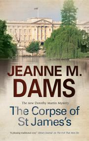 Cover art for THE CORPSE OF ST JAMES'S