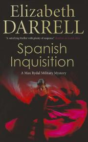 Book Cover for SPANISH INQUISITION