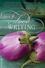 Cover art for BEST FOOD WRITING 2012