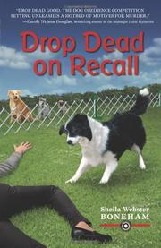 Cover art for DROP DEAD ON RECALL