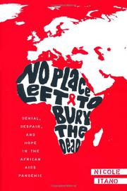 Book Cover for NO PLACE LEFT TO BURY THE DEAD