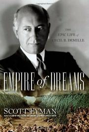 Cover art for EMPIRE OF DREAMS