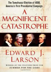 Cover art for A MAGNIFICENT CATASTROPHE