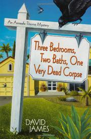 Book Cover for THREE BEDROOMS, TWO BATHS, ONE VERY DEAD CORPSE