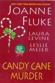 Cover art for CANDY CANE MURDER