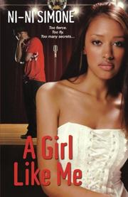 Book Cover for A GIRL LIKE ME