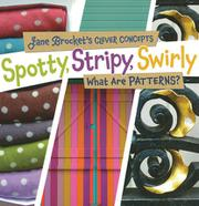 Book Cover for SPOTTY, STRIPY, SWIRLY