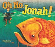Cover art for OH NO, JONAH!