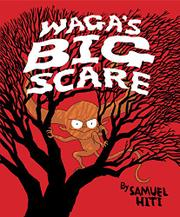 Book Cover for WAGA'S BIG SCARE