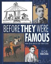 Book Cover for BEFORE THEY WERE FAMOUS