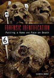Book Cover for FORENSIC IDENTIFICATION