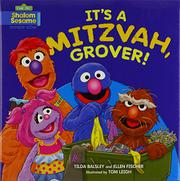 Cover art for IT'S A MITZVAH, GROVER!