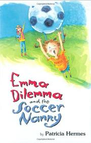 Book Cover for EMMA DILEMMA AND THE SOCCER NANNY
