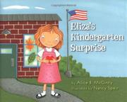 Cover art for ELIZA'S KINDERGARTEN SURPRISE
