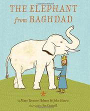 Cover art for THE ELEPHANT FROM BAGHDAD