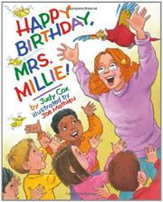 Book Cover for HAPPY BIRTHDAY, MRS. MILLIE!