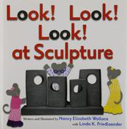 Book Cover for LOOK! LOOK! LOOK! AT SCULPTURE