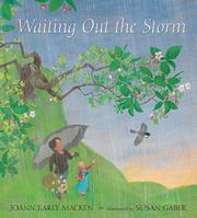 Cover art for WAITING OUT THE STORM