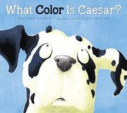 Cover art for WHAT COLOR IS CAESAR?