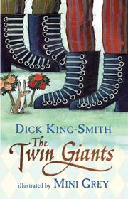 Cover art for THE TWIN GIANTS