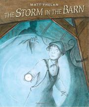 Cover art for THE STORM IN THE BARN