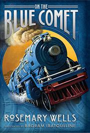 Cover art for ON THE BLUE COMET