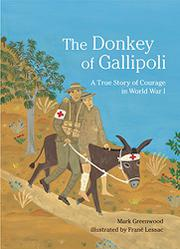 Book Cover for THE DONKEY OF GALLIPOLI