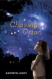 Cover art for CHASING ORION