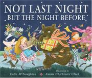 Book Cover for NOT LAST NIGHT BUT THE NIGHT BEFORE