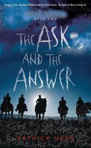 Cover art for THE ASK AND THE ANSWER