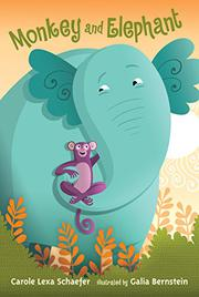 Cover art for MONKEY AND ELEPHANT