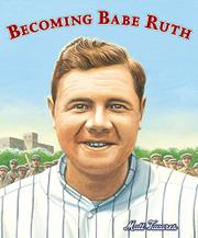Cover art for BECOMING BABE RUTH