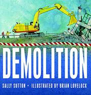 Cover art for DEMOLITION