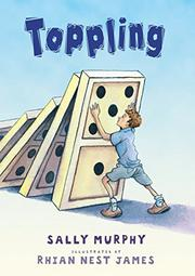 Cover art for TOPPLING