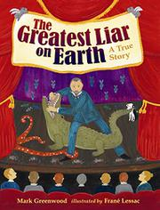 Book Cover for THE GREATEST LIAR ON EARTH