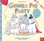Cover art for GUINEA PIG PARTY