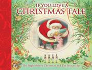 Book Cover for IF YOU LOVE A CHRISTMAS TALE