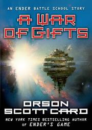 Cover art for A WAR OF GIFTS