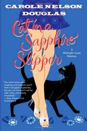 Cover art for CAT IN A SAPPHIRE SLIPPER