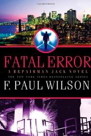 Cover art for FATAL ERROR