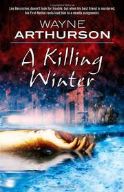 Cover art for A KILLING WINTER