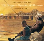 Cover art for THE NEGRO SPEAKS OF RIVERS